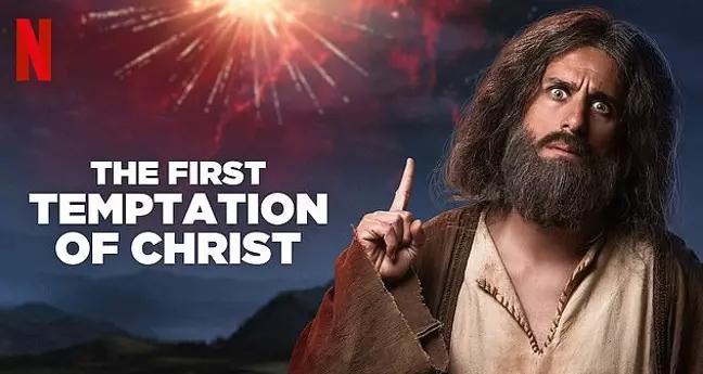 Anuncio de Netflix de La Primera Tentación de Cristo