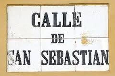 Letrero de la Calle San Sebastián, Viejo San Juan