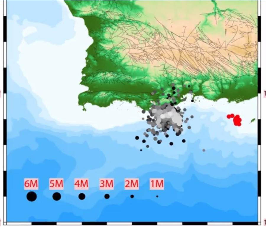 Temblores de Puerto Rico según Red Sísmica.
