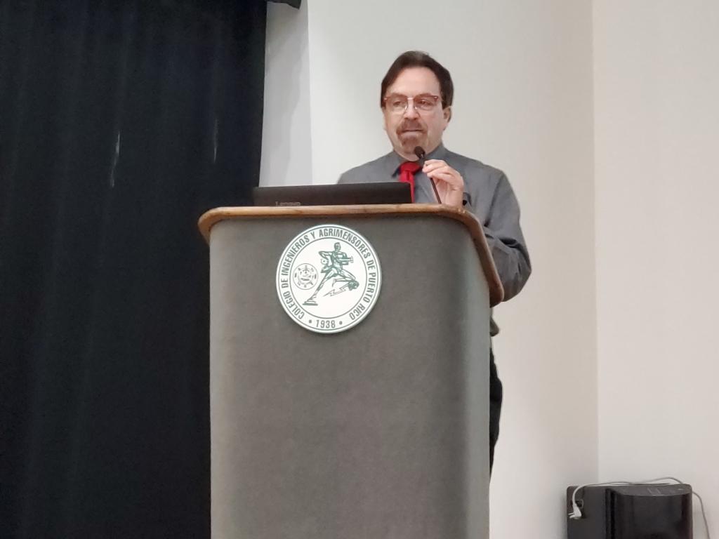 Alfonso Martínez Taboas en la Asamblea de Ateístas de Puerto Rico, 2020. (c) 2020, Pedro M. Rosario Barbosa. Licencia: CC-BY 4.0+.