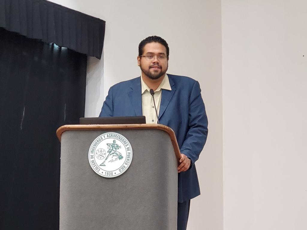 Jonathan Meléndez en la Asamblea de Ateístas de Puerto Rico, 2020. (c) 2020, Pedro M. Rosario Barbosa. Licencia: CC-BY 4.0+.