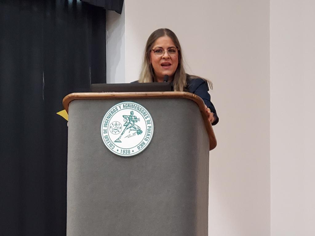 Eva Quiñones, Presidenta de Humanistas de Puerto Rico, en la Asamblea Nacional de Ateístas de Puerto Rico, 2020. (c) 2020, Pedro M. Rosario Barbosa. Licencia: CC-BY 4.0+.