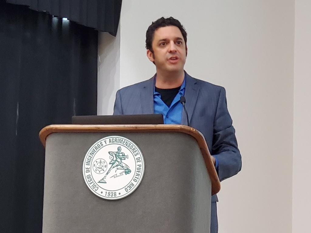 David Silverman en la Asamblea Nacional de Ateístas de Puerto Rico, 2020. (c) 2020, Pedro M. Rosario Barbosa. Licencia: CC-BY 4.0+.