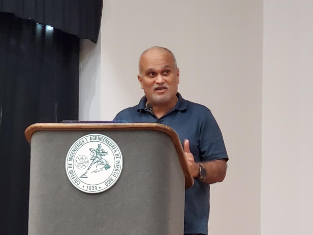 Abel Méndez en la Asamblea de Ateístas de Puerto Rico, 2020. (c) 2020, Pedro M. Rosario Barbosa. Licencia: CC-BY 4.0+.