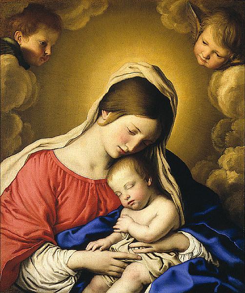La Madonna y su Niño