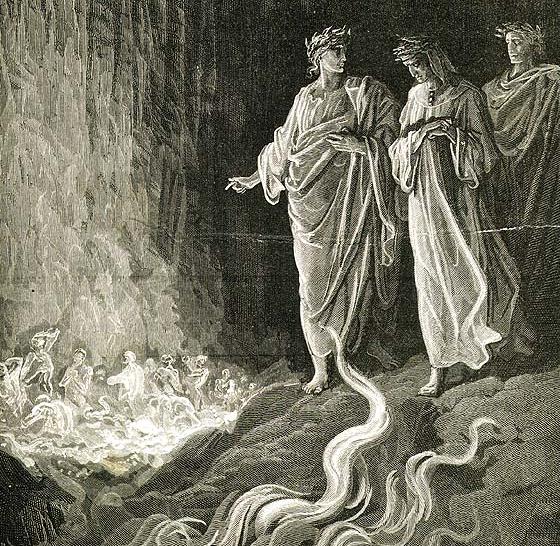 Purgatorio en la Divina Comedia