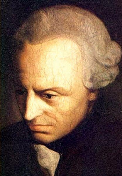 Pintura de Immanuel Kant