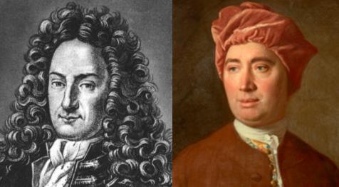 G. W. Leibniz y David Hume