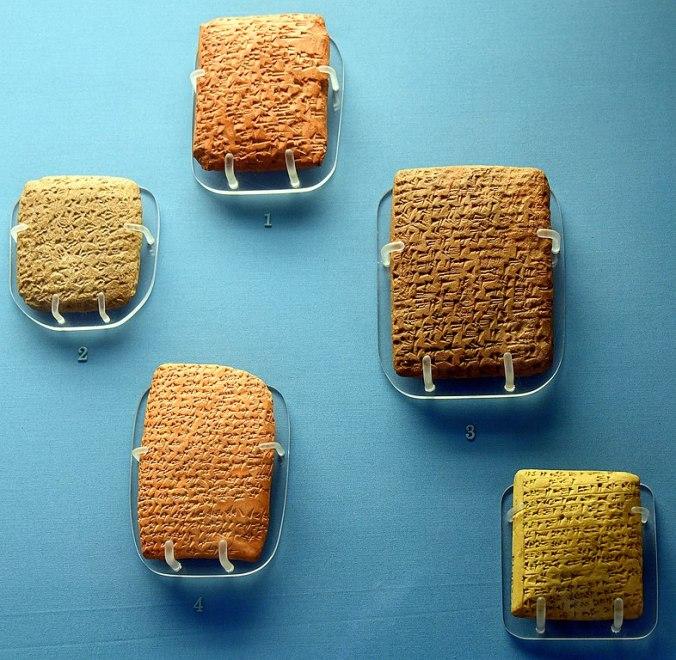 Cinco cartas de Amarna