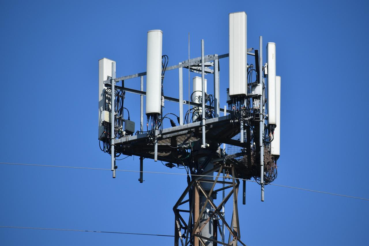 Torre de señal 5G