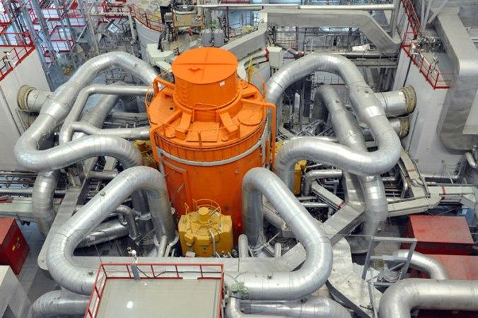 Imagen del reactor del BN-800.