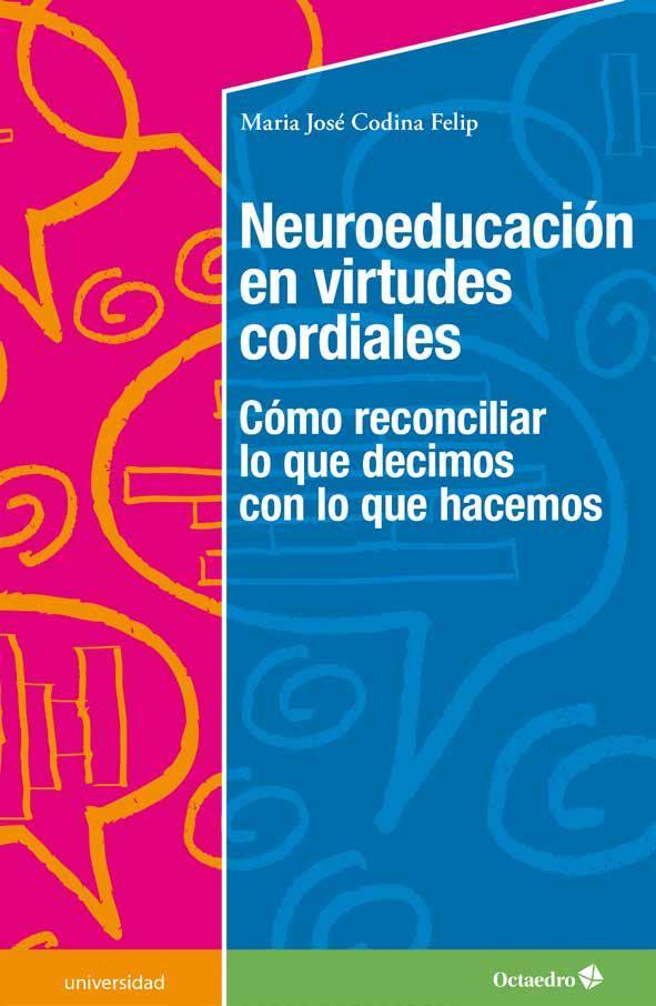 Portada del libro: Neuroeducación en virtudes cordiales