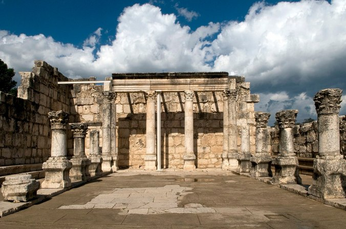 Sinagoga en Cafarnaúm